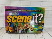 Scene it- music edition dvd board game 2005 Mattel