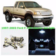 7pcs Interior Bulbs Fit 1997-2003 Ford F-150 F150 LED Light Kit White Lamp US