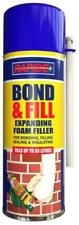 Rapide Bond & Filling Foam Filler PU Expansion Insulation Long Lasting 500ML