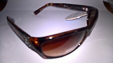 "New Original ""Foster Grant"" Brown Tortoise Shell Celebrity Sunglasses & Pouch"