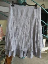 jupe gris imprimé Taille 48 Marque Afibel Femme occasion
