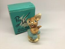 Pendelfin Rabbit The Thumper Hand Painted Made in England Original Box