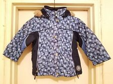 Girl's Mini Ungava Hoodie Jacket Size 3 In Excellent Condition !!
