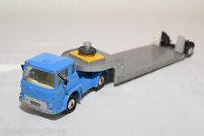 CORGI TOYS 1131 BEDFORD TRUCK WITH LOWBED TRAILER MACHINERY EXCELLENT CONDITION