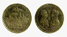pcc2136_26) MEDAL RUSSIA JETON ALEXANDER FRANZ I. BATTLE OF LEIPZIG 1813 mm. 33