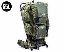 High Sierra Bobcat 65 Litre Hiking Backpack External Frame Color Olive Drab BNIB