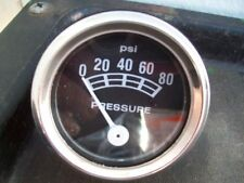 New 80 PSI Oil Pressure Gauge , Universal Fit ; Free Shipping !!