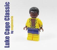 LEGO Custom - Luke Cage Classic - Marvel Super heroes mini figure defenders