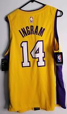 brand new c5655 7610b Nike NBA Los Angeles Lakers Brandon Ingram  14 Swingman Icon Edition Jersey  XL