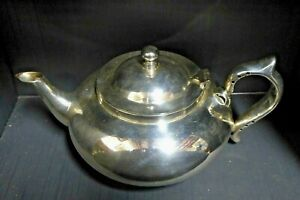 ROBUR PERFECT CHALLENGE SILVER PLATED INFUSER TEAPOT
