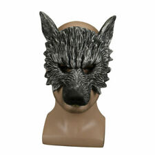 Halloween Humble Hungry Scary Wolf Mask Horror Animal Mask Masquerade Mask Props