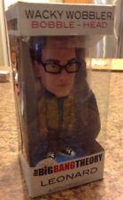 Funko Wacky Wobbler The Big Bang theory LEONARD Bobble-Head