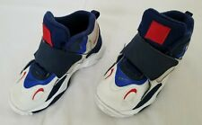 Toddlers Size 10C White Blue Red Nike Speed Turf Training Shoes BV2525-100