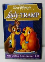 Lady And The Tramp Movie Release Pin Walt Disney's Masterpiece 1998 C9038 NOS