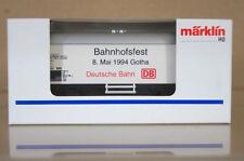 MARKLIN MäRKLIN 4415 K8089 DB BAHNHOFSFEST 8 MAI 1994 GOTHA BIERWAGEN  Kühlwagen