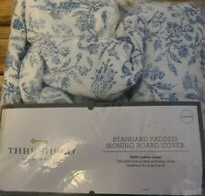Threshold Standard Ironing Board Cover Floral Blue