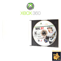 NHL 07 EA Sports (2006) Xbox 360 Video Game Pearl Case Tested Works A+