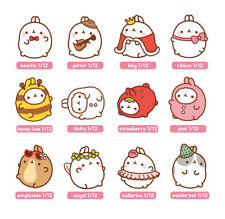 "Molang 2"" Mini Figure Ver.2 (1) Sealed Random Pack Collectible Toy Cute Rabbit"