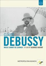 NEW Claude Debussy - Music cannot be learned (DVD)