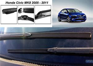 "Honda Civic 2005 - 2011 FRONT WINDSCREEN WIPER BLADES 28"" / 23"""
