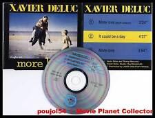 """XAVIER DELUC """"More Love !"""" (CD Maxi 3 titres) 1993"""