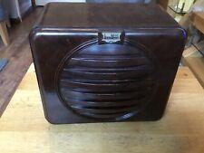 Vintage Rees mace Bakelite speaker