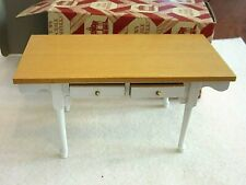 New ListingVintage Town Square Miniatures Doll House Kitchen Table 1:12