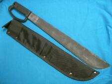VINTAGE ONTARIO KNIFE USA MILITARY JUNGLE BOLO MACHETE SURVIVAL BOWIE OLD SHEATH