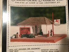 HO WintersRun Mobilegas Gas Station Craftsman Structure Kit MS-W102 Micro Scale