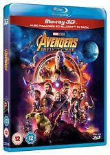 Avengers Infinity War Blu-ray 3d 2018 Region