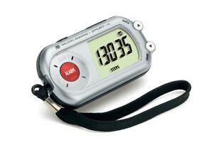 Sportline Walking Advantage 344 Safety Alarm Pedometer Belt Clip WV3483SL