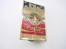 1992--SUPER BOWL XXVI (REDSKINS v. BILLS)--COKE PIN--NMT