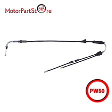 For YAMAHA PW50 PEEWEE50 THROTTLE CABLE LINE Y-ZINGER PY50 PW 50cc Bike All year