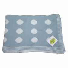 Biancheria e copertine blu per la nanna 100% Cotone