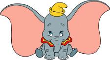 Dumbo Iron On Transfer Light or Dark Fabrics 5 x 7 Size