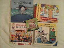 5 kleine Kinderbücher Bilderbücher z. Mitnehmen anschauen und lesen Ravensburger