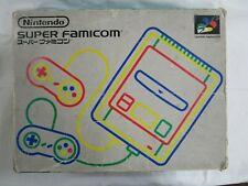 A11 Nintendo Super Famicom console Japan SNES SFC w/box controller x