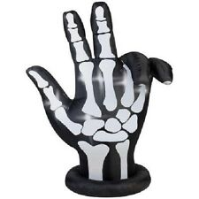 Halloween Inflatable 7' Animated Airblown Skeleton Hand