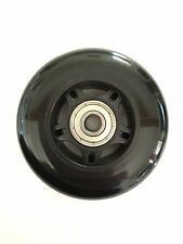 MINI MICRO SCOOTER Replacement SOLID BLACK Rear Wheel - Incl Bearings - 80mm