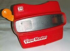 Viewmaster 3D Viewer Red with Orange Lever Made in USA by Tyco VIEW-MASTER GAF