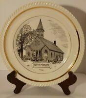 Decorative Plate Kings Chapel Methodist Church New Castle PA 1802 Seibert