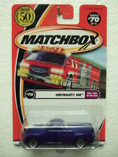 RARE MATCHBOX mb70 (mw-550) CHEVROLET SSR with 50th logo on Long CARD