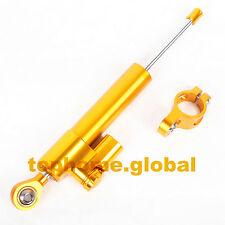 Universal Adjustable Steering Damper Stabilizer Linear Reversed Safety Control Y
