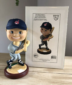 CLEVELAND INDIANS Memory Company Hand Painted/Crafted MLB Nodder Bobblehead NIB