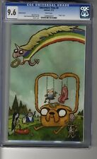 Adventure Time # 4 Virgin Cover C - CGC 9.6 WHITE  Pages - Finn & Jake