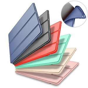 S-Tech iPad 5th Generation Case 9.7 Slim Magnetic Silicone Smart Cover For Apple
