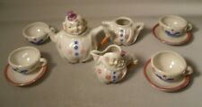 Miniature Toy Tea Set of Clowns Marked Germany