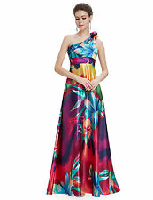 One Shoulder Dry-clean Only Floral Dresses for Women