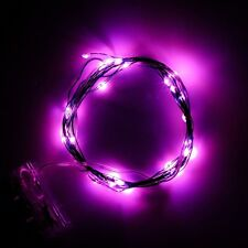 2M 20LEDs Soft Wire LED String Light 3*AA Battery Operated DIY Starry Fairy Pink