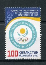 Kazakhstan 2017 MNH NOC NOK Natl Olympic Committee 1v Set Olympics Stamps